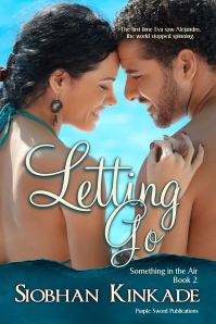 Letting Go Book Cover by Siobhan Kinkade